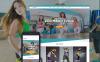 Responsives WordPress Theme für Tanzstudio  New Screenshots BIG