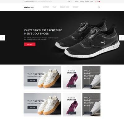 Responsywny motyw WooCommerce #61306 na temat: sklep obuwniczy