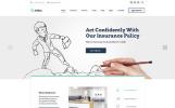 Responsywny szablon strony www AllRisk - firma ubezpieczeniowa #61345