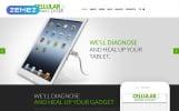 Responzivní Joomla šablona na téma Mobilní opravárenské služby
