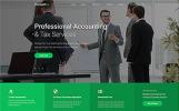 Reszponzív Accountex - Accounting Clean Multipage HTML Weboldal sablon