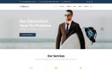 Reszponzív Adótanácsadó és pénzügyi tanácsadó  Weboldal sablon
