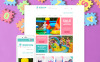 Reszponzív Bababolt  OpenCart sablon New Screenshots BIG