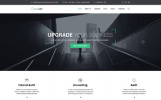 Reszponzív Easy Audit - Egy többcélú tanácsadási  Weboldal sablon