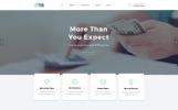 Reszponzív FastCredit - Többoldalas jelzálogpiaci megoldások Weboldal sablon