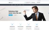 Reszponzív Pénzügyi tanácsadók témakörű  Weboldal sablon