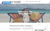 Reszponzív Utazási iroda témakörű  Joomla sablon