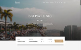"""""""Roof - Hotel Multipage Clean Bootstrap HTML5"""" Responsive Website template"""