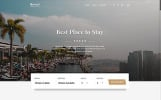 Roof - Hotel Multipage Clean Bootstrap HTML5 Template Web №61342