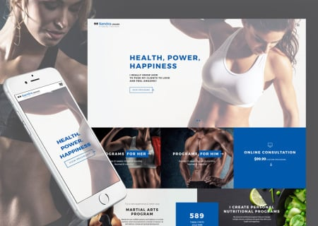 Sandra Lincoln - Personal Fitness Trainer Responsive