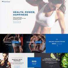 23 best fitness website templates