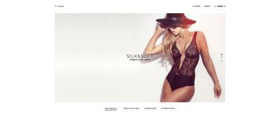 Silk & Soft - Underwear & Lingerie Online Store OpenCart Template #61312