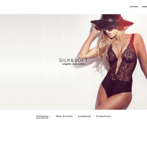 Silk & Soft  - Responsive OpenCart Template