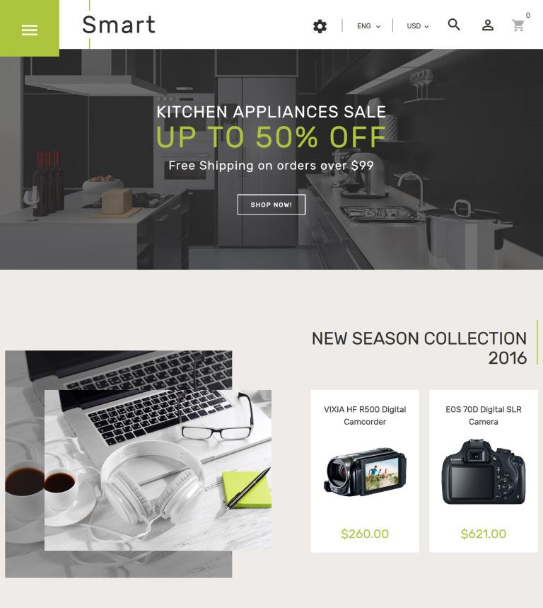 Smart - Gadgets & Electronics PrestaShop 1.7 Theme