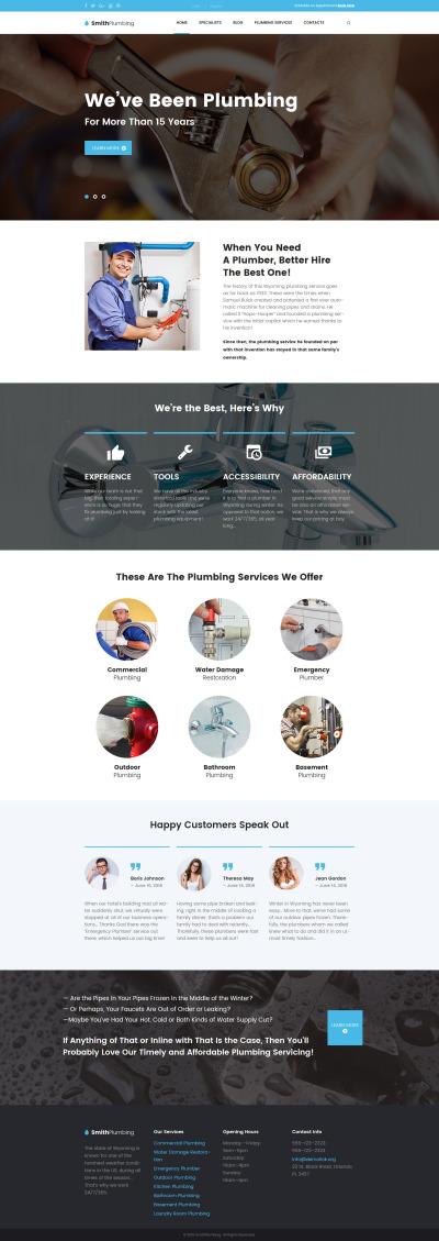 SmithPlumbing - Maintenance and Plumbing