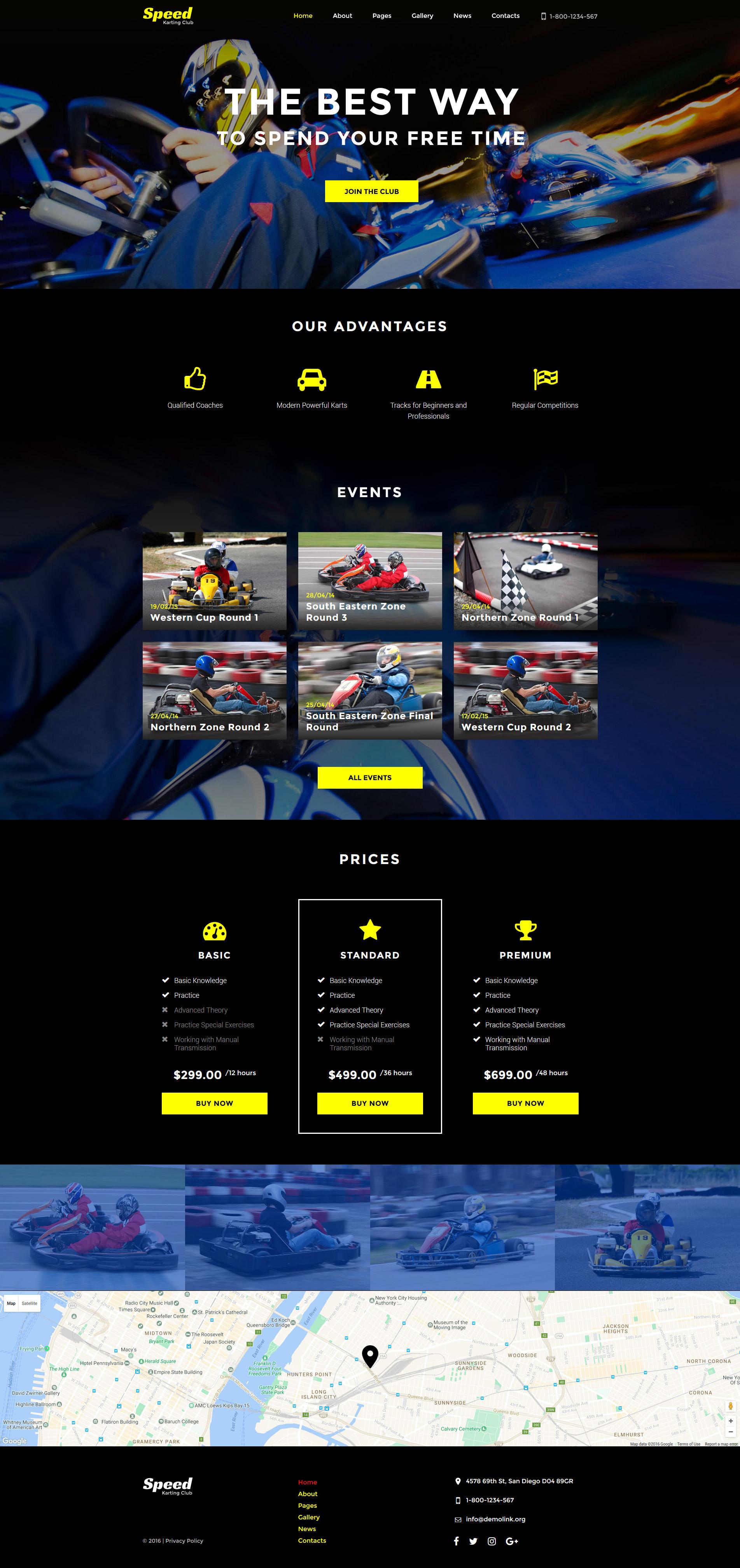 Speed - Karting Club Responsive №61348