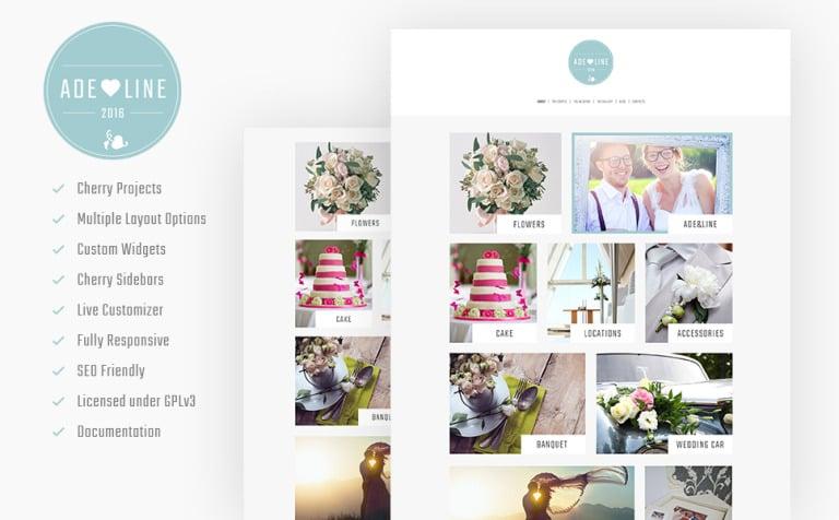 Tema de WordPress #61327 para Sitio de Galerías de fotografía