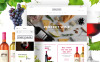 Tema WooCommerce Responsive #61302 per Un Sito di Vino New Screenshots BIG