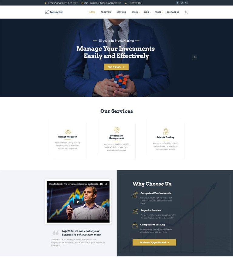 Holding company website template flashek Choice Image