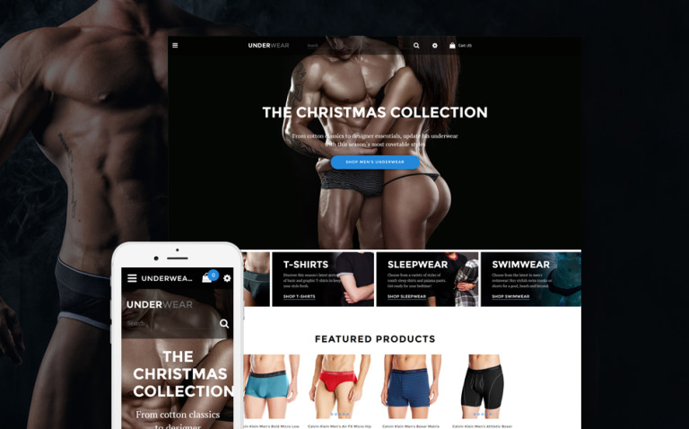 Underwear - Lingerie & Underwear Store OpenCart Template New Screenshots BIG