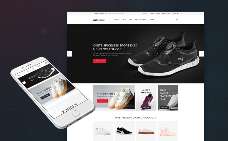 Walkabout - Footwear Store Responsive WooCommerce Theme New Screenshots BIG