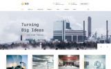 "Website Vorlage namens ""Alfa Industries - Heavy Industries Multipage"""