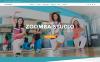 """Zoomba - Zoomba Dance Studio"" Responsive WordPress thema New Screenshots BIG"