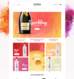 Food & Drink VirtueMart  Template 61400