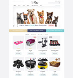 Animals & Pets OpenCart  Template 61404