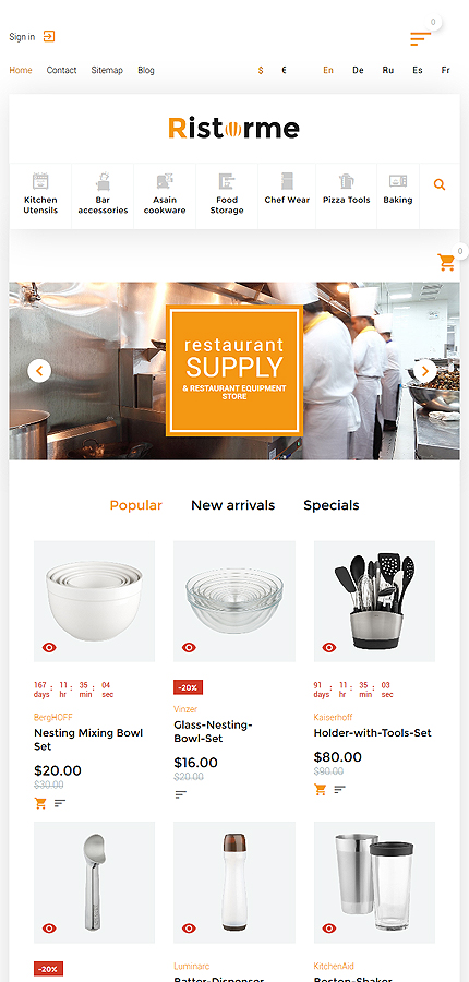 ADOBE Photoshop Template 61410 Home Page Screenshot