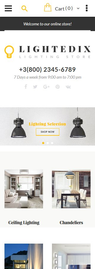 Magento Theme/Template 61420 Main Page Screenshot