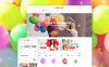 Адаптивний Shopify шаблон на тему розваги New Screenshots BIG