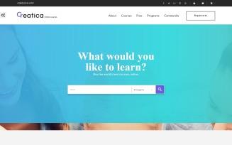 Creatica - Online Courses PrestaShop Theme