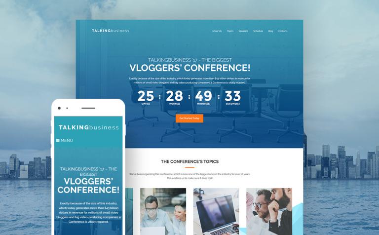 Bonito Evento Sitio Web Plantilla Wordpress Elaboración - Colección ...