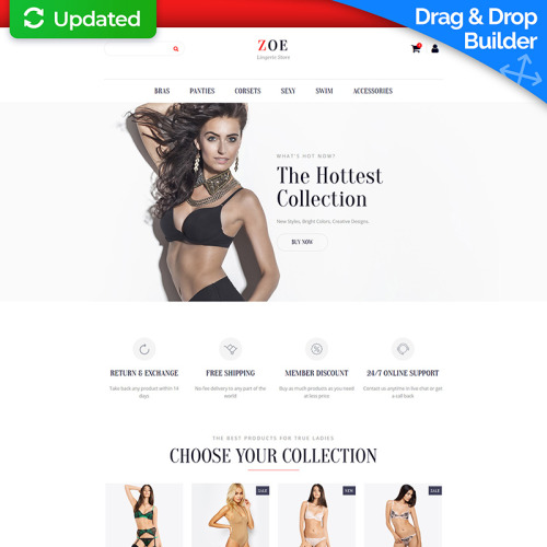 Zoe - Ecommerce Template based on Bootstrap