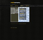 Flash: Web Design Media Flash Site Black Templates