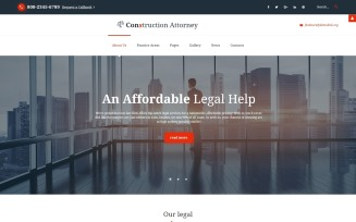 Fenimore - Attorney & Law Services Joomla Template