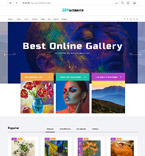 Art & Photography PrestaShop Template 62011