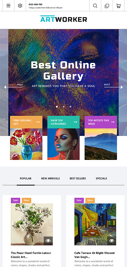 ADOBE Photoshop Template 62011 Home Page Screenshot
