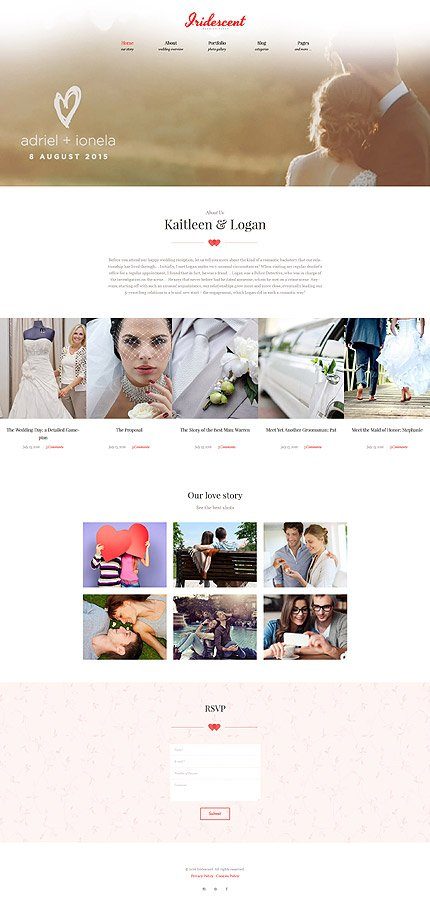 ADOBE Photoshop Template 62018 Home Page Screenshot