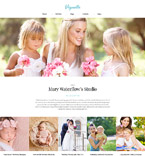 Art & Photography WordPress Template 62019
