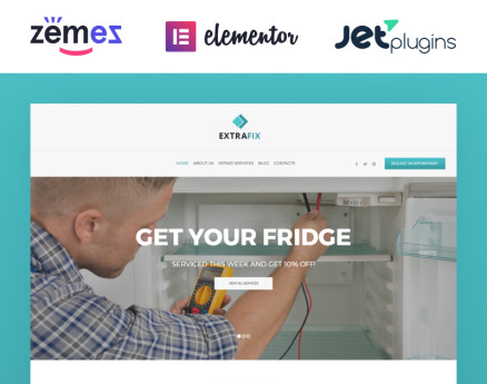 Extrafix - Maintenance & Home Repair WordPress Theme