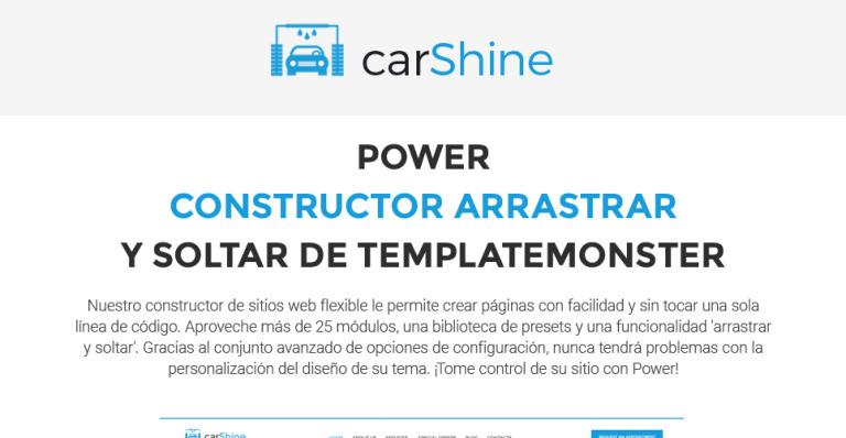 Tema de WordPress #62023 para Sitio de Lavado de autos