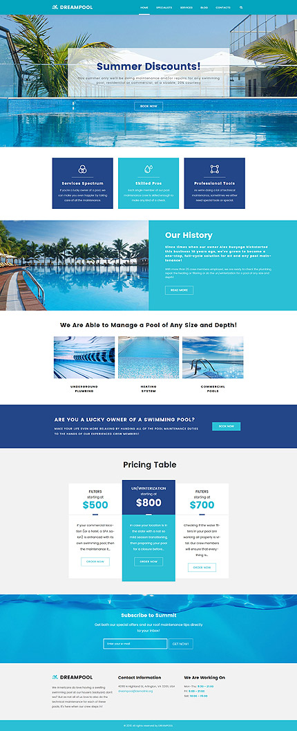 ADOBE Photoshop Template 62026 Home Page Screenshot