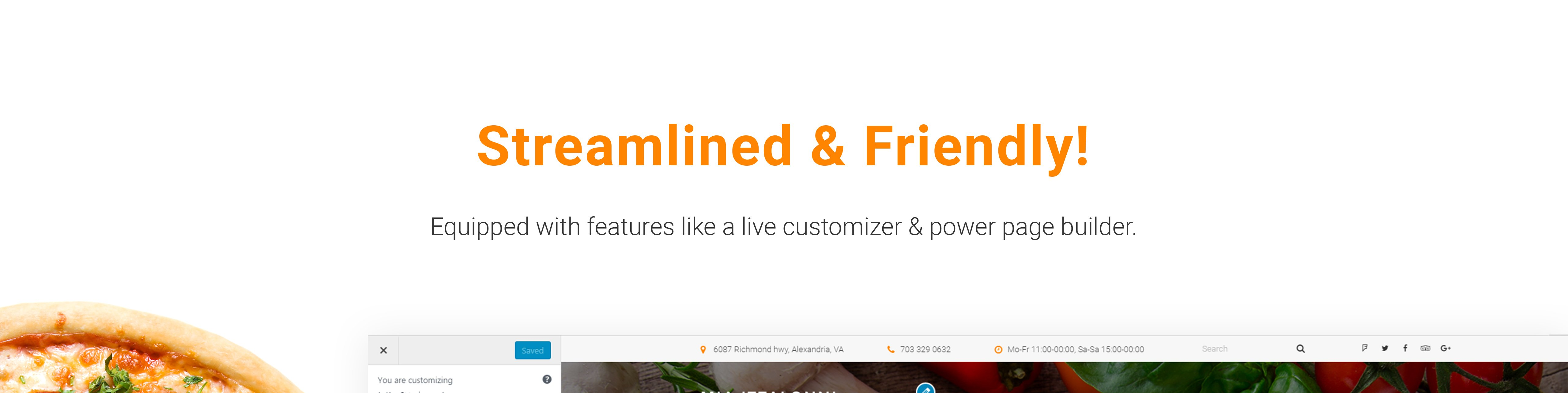 Mia Ittalloni - Free WordPress Restaurant Theme WordPress Theme