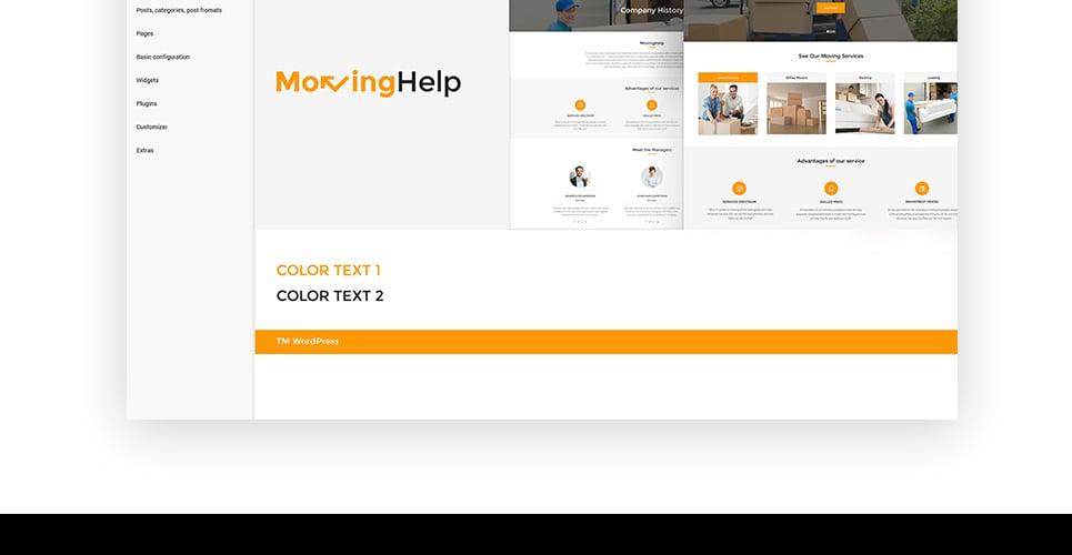 Moving Help - Logistic & Transportation WordPress Theme