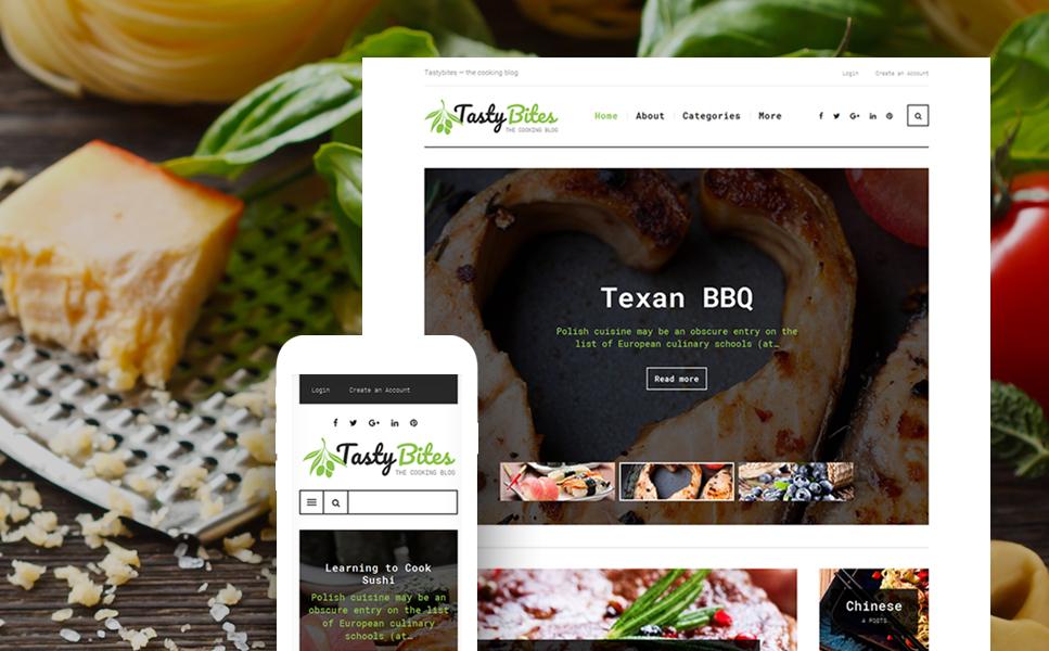 Tema Wordpress ideal para blog de cocina, gastronomía y restauración ...