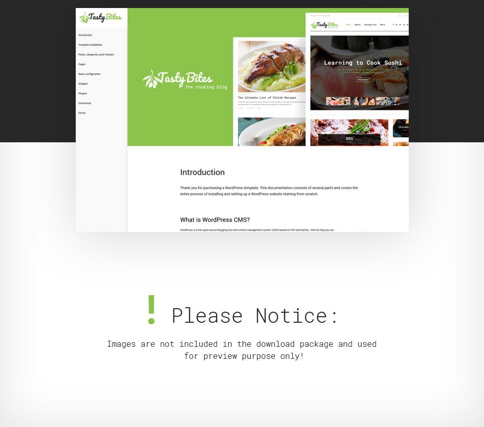 WordPress Theme #62036 für Lebensmittelgeschäft