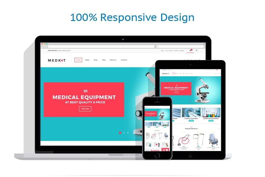 WooCommerce Themes Médical #62047