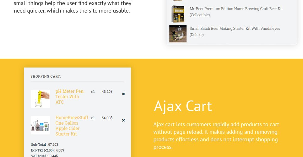 HomeBrew - Brewery Responsive OpenCart Template